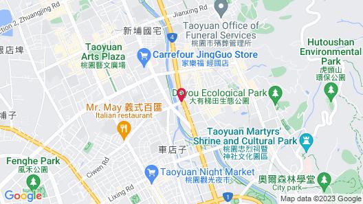 Holiday Inn Express Taoyuan, an IHG Hotel Map