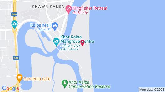 Mysk Kingfisher Retreat Map