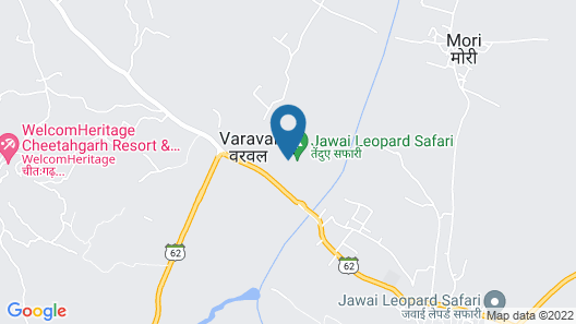 Varawal Jawai Leopard Safari Camp Map