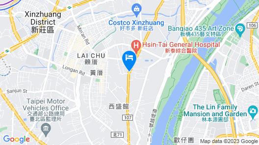 Merry Sing Motel Map