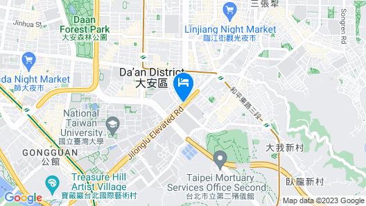 K HOTEL Dunnan Map