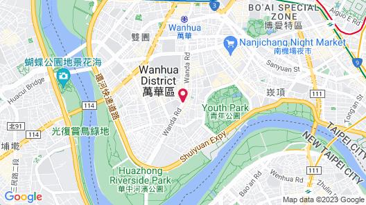 Taipei Hua Zhung Campsite  Map