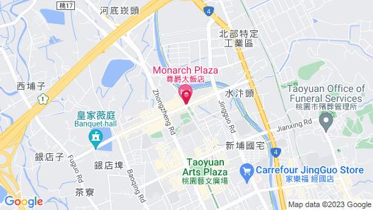 Monarch Plaza Hotel Map