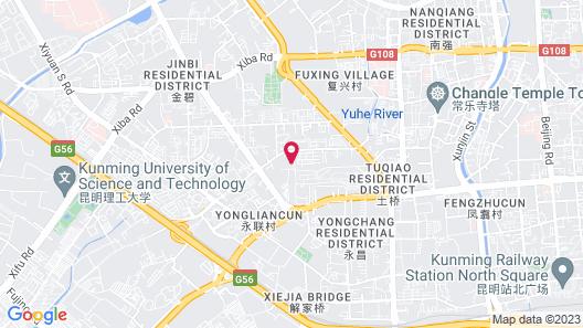 Sofitel Kunming Map