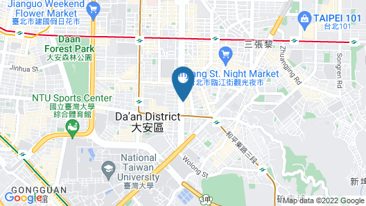 Shangri-La's Far Eastern Plaza Hotel Taipei Map