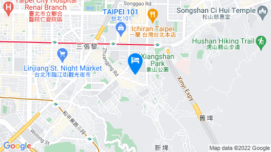 Taipei 101 Yurmans House Map