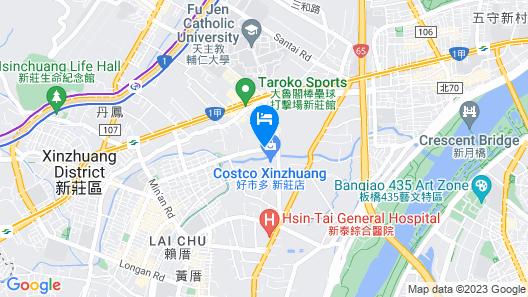 Surreal Motel- XinJhung Branch Map