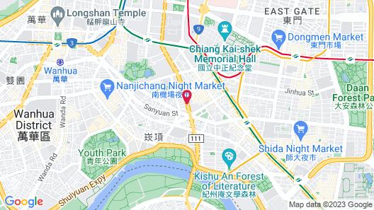 UINN TRAVEL - Hostel Map