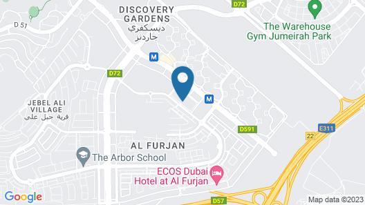 Signature Holiday Home-Masakin Al Furjan Map