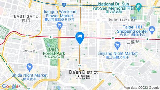 Taipei Fullerton Hotel-South Map