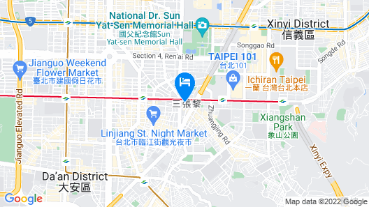 Pacific Business Hotel Map