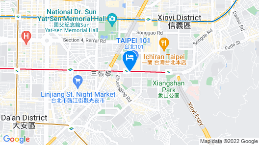 Taipei 101 SPARKLE Hotel Map