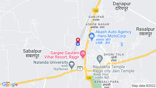 Hotel Anand Lok Map