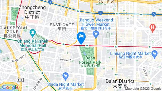 Rido Hotel Map