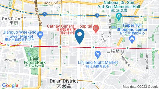 MADISON TAIPEI HOTEL Map