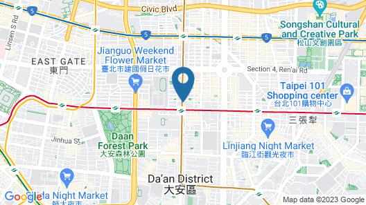 Park Taipei Hotel Map