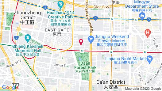 The Corner House Map