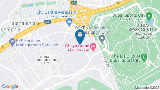 Element Me'aisam, Dubai Map
