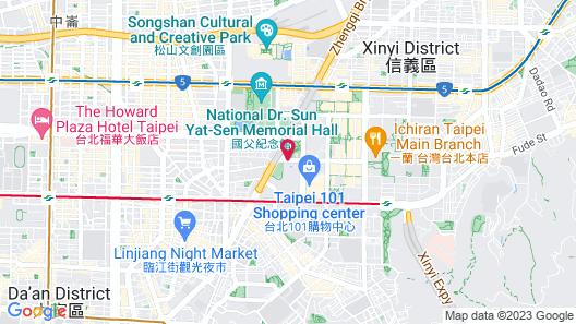 Grand Hyatt Taipei Map