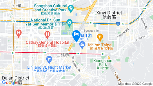 Grand Hyatt Taipei Map