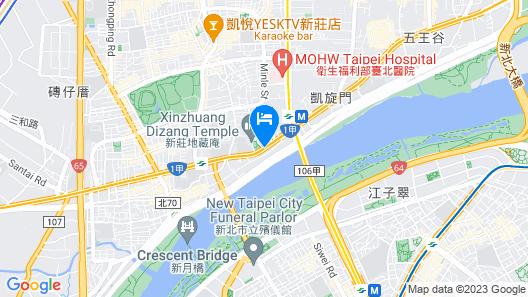 Chateau de Chine Xinzhuang Map