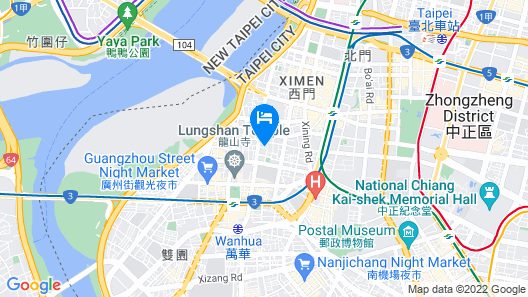 Anberstay Boutique Apartment Map