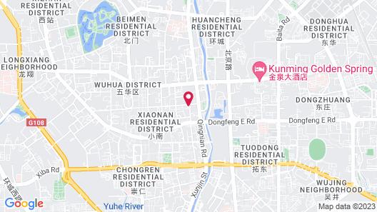Horizon Hotel Citycenter Map