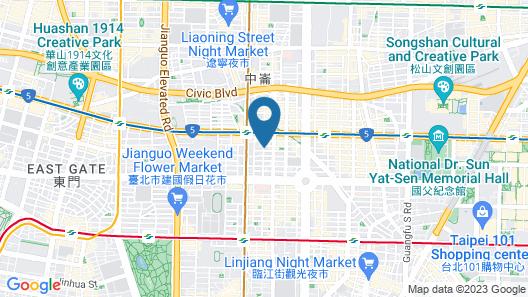Kimpton Da an Taipei, an IHG Hotel Map