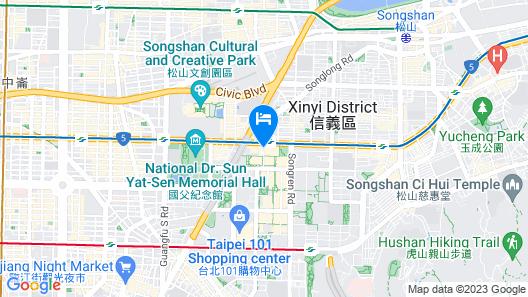 W Taipei Map