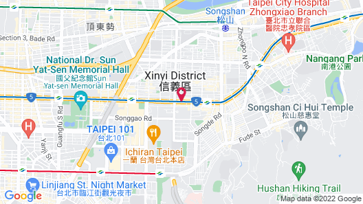 The Tango Taipei XinYi Map