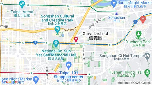 5MIN to ATT 4 FUN Map