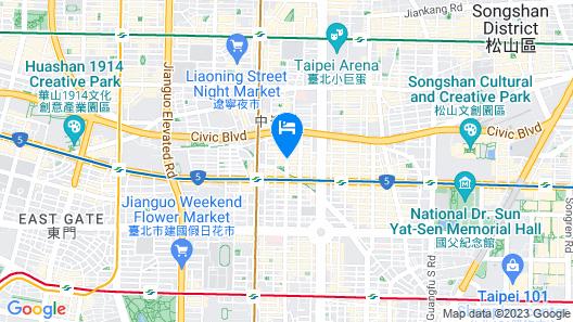 HOTEL PROVERBS TAIPEI Map