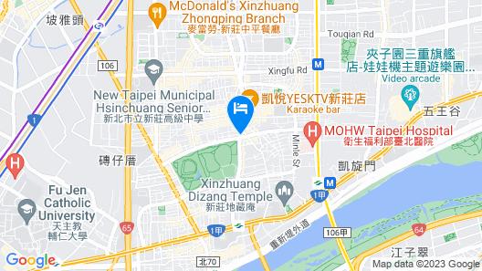 Landmark Inn Map