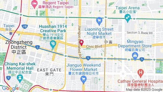 Miramar Garden Taipei Map