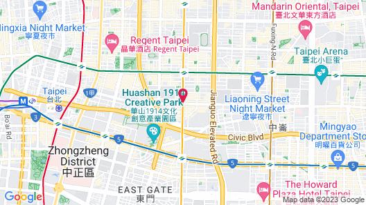 K Hotels Taipei Chang-An Map