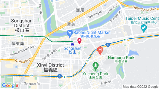 amba Taipei SongShan Map