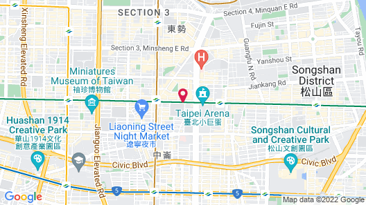 HOTEL QUOTE Taipei Map