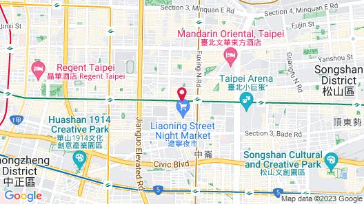 U Hotel Taipei Map