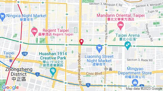 Green World Grand NanJing Map