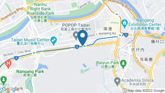 Courtyard by Marriott Taipei Map