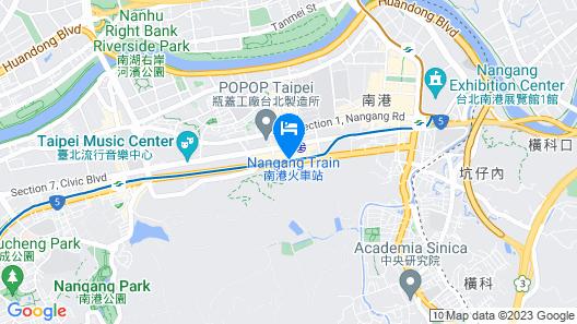 Courtyard by Marriott Taipei Map