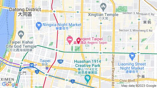 Beauty Hotels Taipei - Hotel Bfun Map