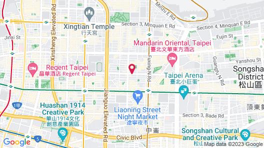 City Hotel Map