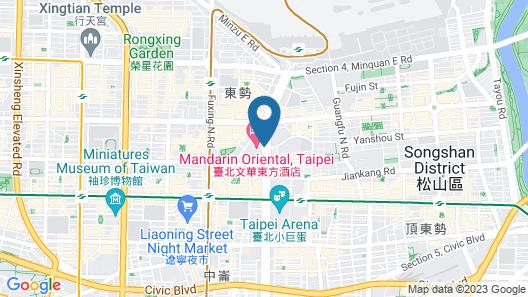 Mandarin Oriental Taipei Map
