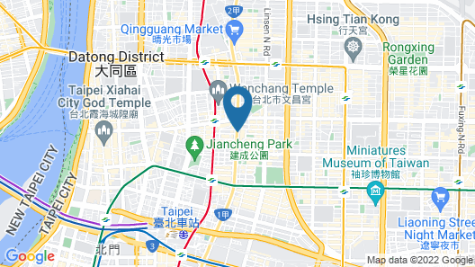 Ambassador Hotel Taipei Map