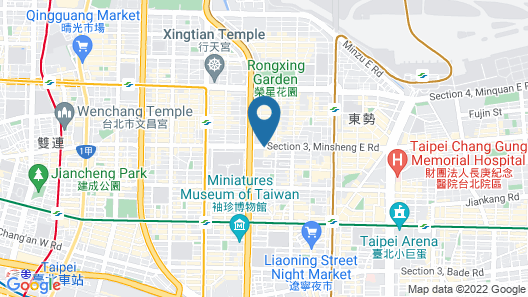 Courtyard by Marriott Taipei Downtown Map