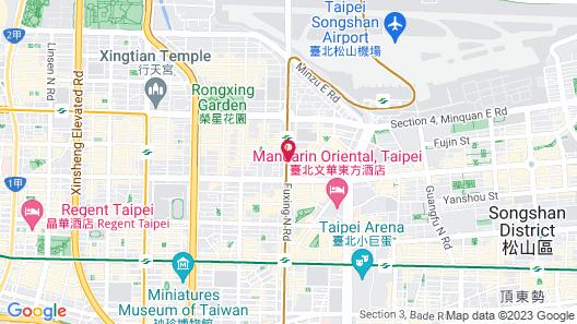 Taipei Fullerton Hotel – Maison North Map