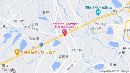 Sheraton Taoyuan Hotel Map