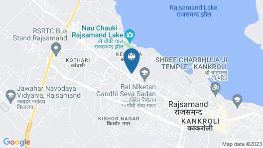 Club Mahindra Kumbhalgarh Map