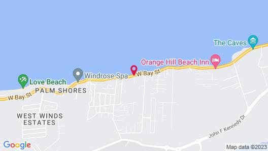 Caprice 14 Cable Beach Luxury Villa Map